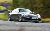 Porsche 911 GT3 RS 997 Gen 2 - tracking side