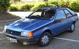 4 Renault Fuego