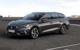 Seat Leon 2020 - estate stationary front side