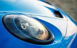 4a Porsche 911 GT3 2021 UK first drive review headlights
