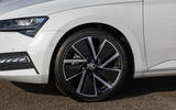 Skoda Superb iV 2020 first drive review - alloy wheels
