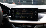 Skoda Scala official reveal stage infotainment