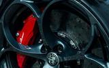 Alfa Romeo Stelvio Quadrifoglio 2018 UK RHD first drive - ceramic brakes