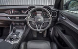 Alfa Romeo Stelvio Speciale first drive review - dashboard