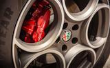 Alfa Romeo Stelvio Sprint 2020 UK first drive review - wheels and brakes