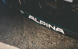 Alpina B3 Touring 2020 UK first drive review - bumper decals