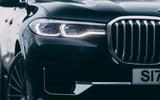 5 Alpina XB7 2021 UK first drive review headlights