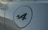 Alpine A110 S 2020 UK first drive review - fuel filler cap