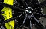 Aston Martin DB11 AMR 2018 review brake calipers