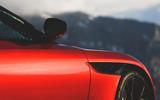 Aston Martin DBS Superleggera 2018 first drive review quarter panel