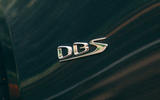 Aston Martin DBS Superleggera Volante 2019 UK first drive review - DBS badge