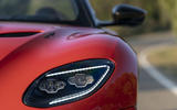 Aston Martin DBS Superleggera Volante 2019 first drive review - headlights