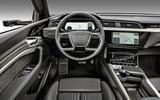 Audi E-tron 2019 official reveal steering wheel