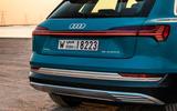Audi E-tron quattro 2018 first drive review - rear end