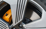 Audi E-tron Sportback 55 2020 UK first drive review - brake calipers