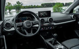 Audi Q2 2020 first drive review - dashboard