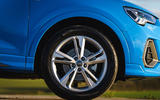 Audi Q3 45 TFSI 2019 first drive review - alloy wheels