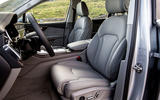 Audi Q7 2019 first drive review - cabin