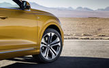 Audi Q8 2018 first drive review alloy wheels