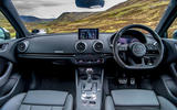 Audi RS3 Sportback 2019 UK first drive review - dashboard