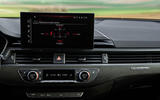 Audi RS4 Avant 2020 first drive review - infotainment