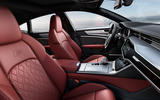 Audi S7 TDI 2019 first drive review - cabin