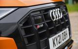 5 Audi SQ8 2021 UK FD front grille