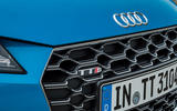 Audi TTS 2018 first drive review badge