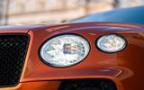 Bentley Bentayga 2020 UK first drive review - headlights