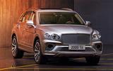 Bentley Bentayga facelift - static front