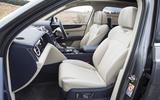 Bentley Bentayga Hybrid 2020 UK first drive review - front seats