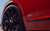 5 Bentley Fyling Spur V8 2021 UK review alloy wheels
