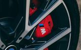 5 BMW 1 Series 128ti 2021 UK first drive review brake calipers