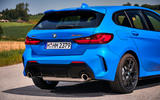 BMW 1 Series M135i 2019 first drive review - exhausts