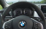 BMW 2 Series Active Tourer 2018 review instrument cluster