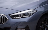 BMW 2 Series Gran Coupe 220d 2020 first drive review - headlights