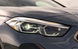 BMW 2 Series Gran Coupe M235i 2020 UK first drive review - headlights