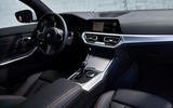BMW 3 Series 320d Sport Line 2019 first drive review - cabin