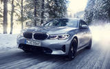 BMW 3 Series 330e hybrid 2019 first drive review - on the road front