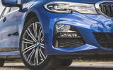 BMW 3 Series Touring 320d 2019 UK first drive review - alloy wheels