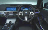 BMW 3 Series 320d 2019 UK first drive review - dashboard