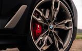 BMW 5 Series M550i 2020 UK first drive - alloy wheels