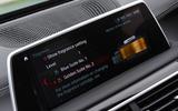 BMW 7 Series 740Ld long-term review infotainment