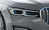 BMW 7 Series 750Li 2019 first drive review - headlights