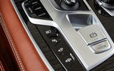 BMW 7 Series 745e 2019 first drive review - centre console