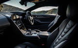BMW 840d 2019 first drive review - cabin