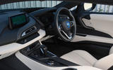 BMW i8 Coupe 2018 UK first drive review dashboard