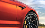 BMW M5 Competition 2020 UK first drive review - alloy wheels
