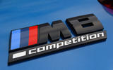 BMW M8 Competition Coupe 2020 UK first drive review - badge