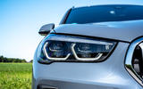BMW X1 25d 2019 first drive review - headlights
